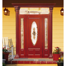 Entrance Solid Wood Painting Door