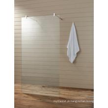 Clear Glass Banheiro Banheira Shower Screen (T2)