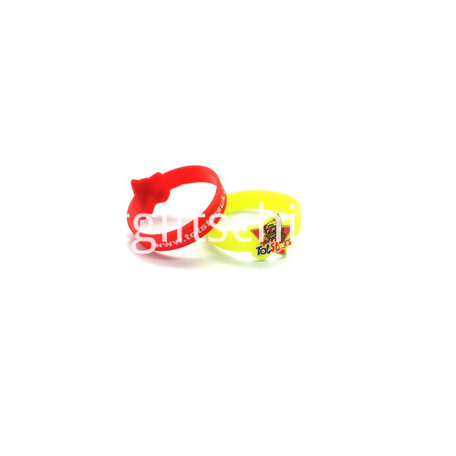 Promotional Figured Cartoon Printed Silicone Wristbands (2)
