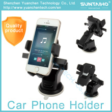 Soporte ajustable del teléfono del coche del montaje 360 de la succión para el iPhone Samsung