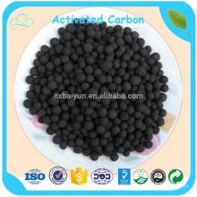1000 yodo de 3 mm de carbón activado esférico para filtro de carbón activado