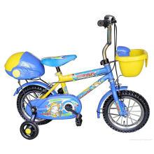 Kinder Mountainbike gelbe und blaue Farbe