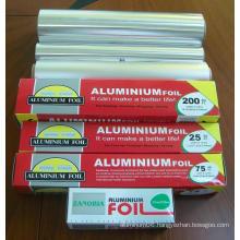 Household Aluminium/Aluminum Foil Roll for Food