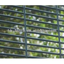 Clôture haute sécurité galvanisée / 358 mesh
