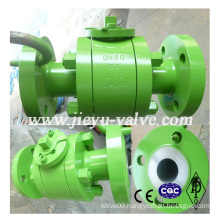 Forged Steel 3PC Flange Ball Valve