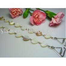seashell metal bra straps