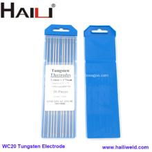 Cerium Tungsten Electrode For Tig Welding WC20