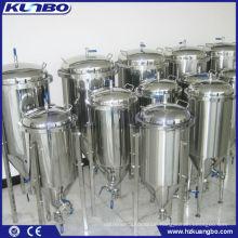 stainless steel double jacket beer yeast tank
