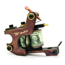 Reine Handarbeit Messing Spule Tattoo Maschinengewehre
