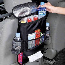 Travel Storage Cooler Bag Car Seat Back Organizer