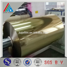 Professionelle Garn Grade Golden Silber Metallic Film