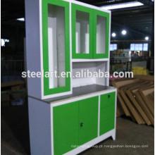 filipinas móveis novo modelo de aço inoxidável armário de cozinha