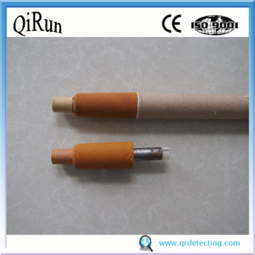 High Oxygen and Temperature Sensor for Steel