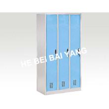 (C-38) Drei Türen Plastik-Spray-Kleidung Umkleidekabine