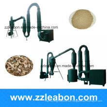800-900kg / H Sawdust Wood Chips Rice Husk Pipe Dryer