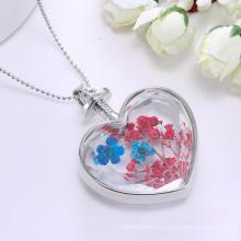 Chaîne de chandail de collier de femmes de forme de coeur de bijoux