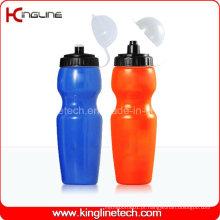 Garrafa de água de plástico, garrafa de esportes plástica, garrafa de água esportiva de 700 ml (KL-6728)