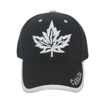 Casquette de baseball avec logo Canada à l'avant (GKA01-F00055)