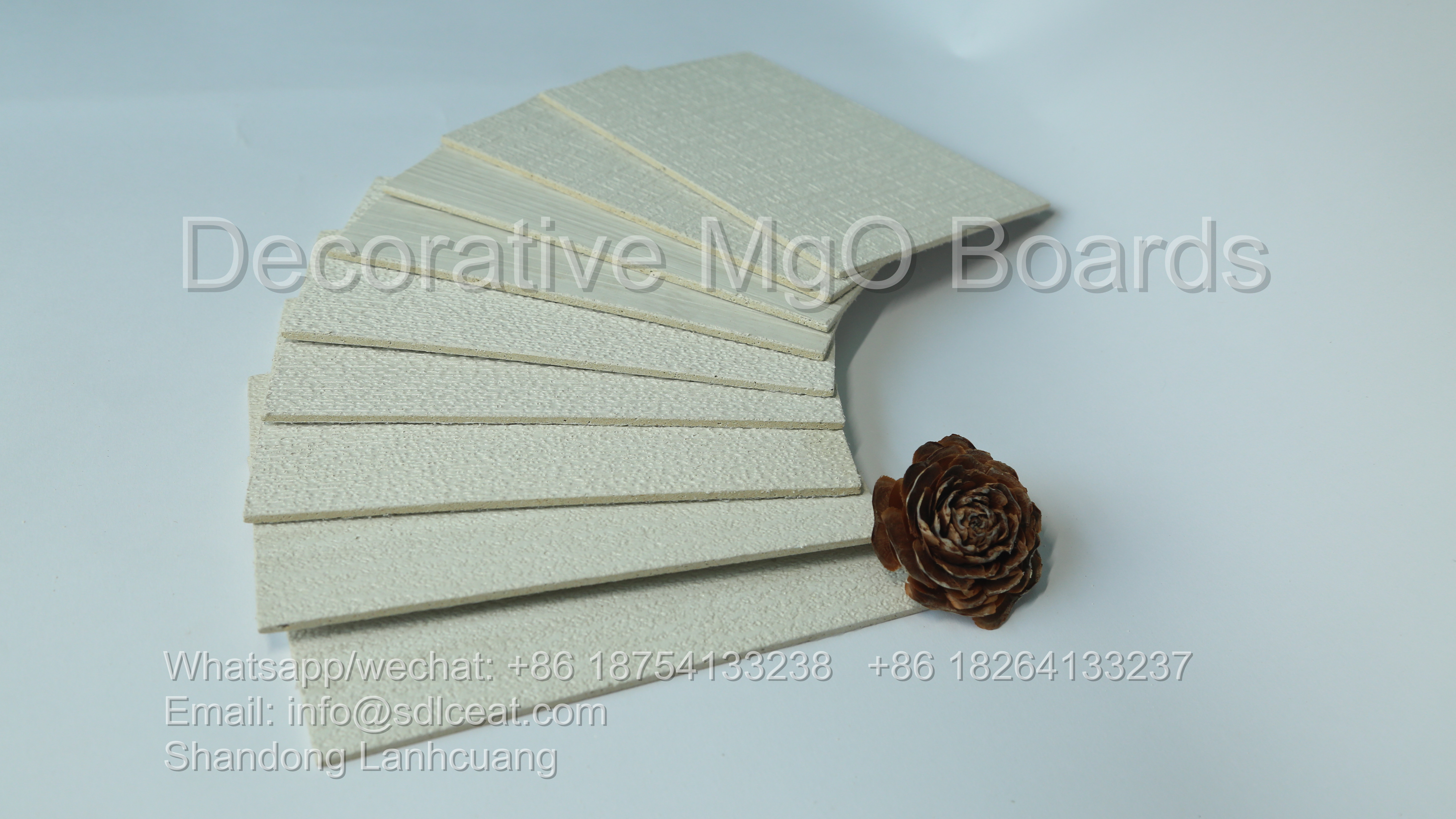 white decorative mgo panel