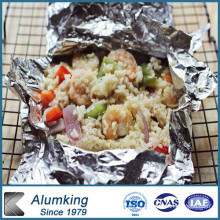 Double Zero Aluminum Roll Foil for Food Packaging (8079)