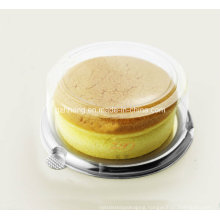 Clear Plastic Round box for cheese cake (PP box)