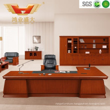 Classic Commercial Office Wooden Executive Boss Desk (HY-D0833)