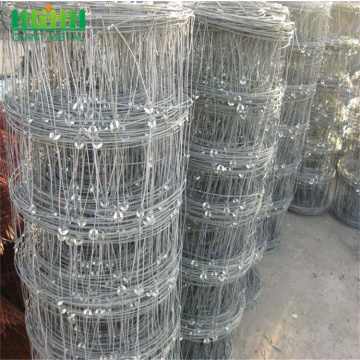 zinc coating fixed knot woven fence for goats