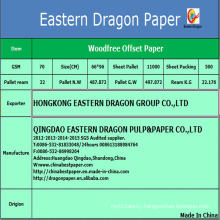 60g White Bond Papers Uncoated