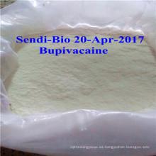 Bupivacaína cruda del polvo del 99% para la anestesia Infitration CAS. No .: 2180-92-9
