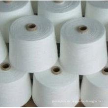 Hilo 100% algodón mercerizado con gas