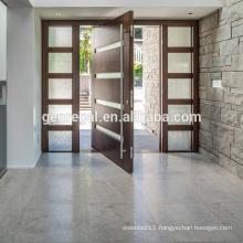 Elegant modern front wooden pivot entry doors
