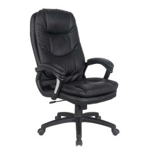 High Back Soft Pad Pu Leather Swivel Chair