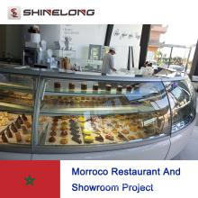 Morroco Restaurant und Showroom-Projekt