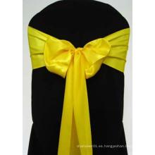 Silla de silla amarilla