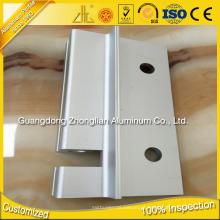 ISO 9001 Perfis extrudados de anodização Alumínio Perfil CNC Alu