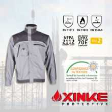 functional professional cotton twill welding winter jacket