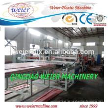 hohe Leistung von PVC-Hartschaumplatten, die Maschinerie
