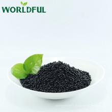acide humique noir brillant worldful + engrais granulaire d'acide aminé avec NPK 12-3-3