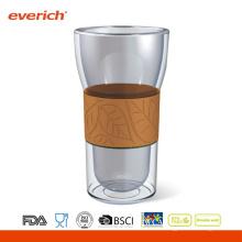 OEM Akzeptieren Sie umweltfreundliche kundenspezifische Kaffee-Glas-Schale