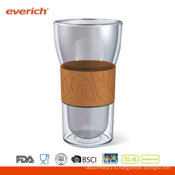 OEM Примите Eco-friendly изготовленный на заказ чашку кофеего стекла