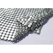 Paño de la tela de metal decorativo forma plana