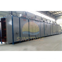 CE Approved Low Investment Briquette Mesh Belt Dryer