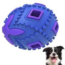 Dispensador de petiscos de ovo oco, quebra-cabeça, brinquedo para roer de cachorro