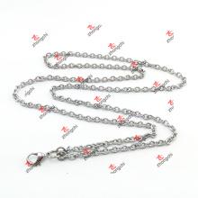 Preço de fábrica personalizado cadeia Rolo de aço inoxidável para colar (CSR60104)