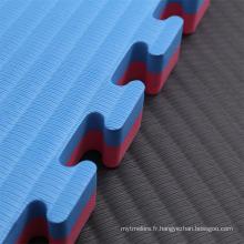 Tatami tapis EVA filmé face à l'eau