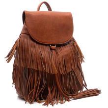 Fashionable Backpacks for Teenager Girls, Popular PU Leather Backpack
