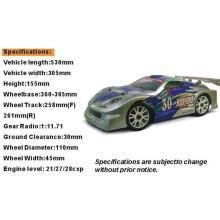 Hsp 94086 1 / 8th Scale Nitro en el coche de carreras de Rally Road