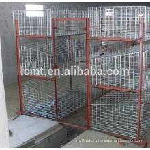 Курицу использовать стальной Материал слоя яйца куриные клетки для птицефабрики