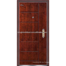 Gepanzerte Tür (JKD-218) hohes Maß an Sicherheit und Stahl Holz Außentür