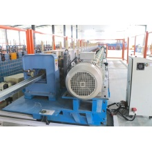 Heavy duty shelving rack decking roll forming machine